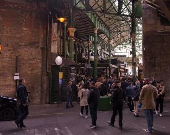 Un des plus vieux marchés de Londres.