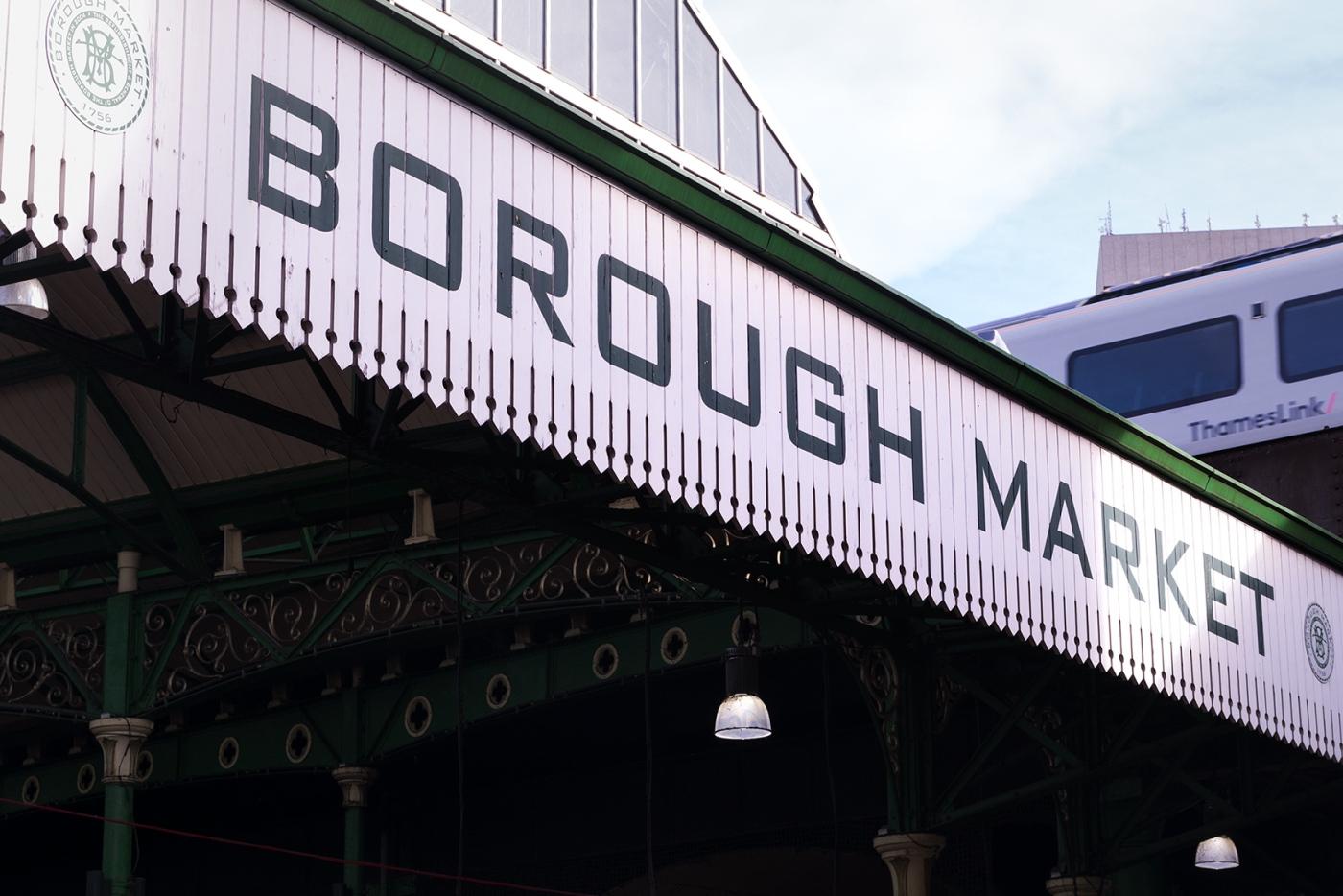 Borough Market, Londres.