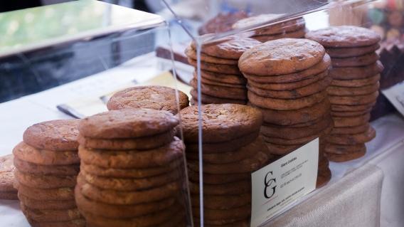 Les Giant Cookies de chez Comptoir Gourmand.