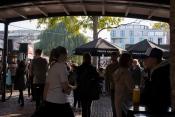 Au coeur du marché de Camden Market.