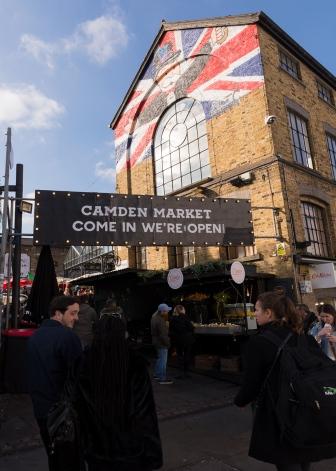 Bienvenue au Camden Market!