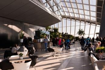 Le Sky Garden est à faire un jour de beau temps pour une vue dégagée sur Londres.