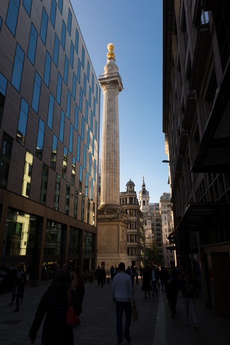 Monument to the Great Fire of London.