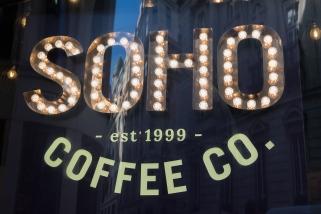 Soho coffee & co, une enseigne qui s'est multipliée partout en Grande-Bretagne.