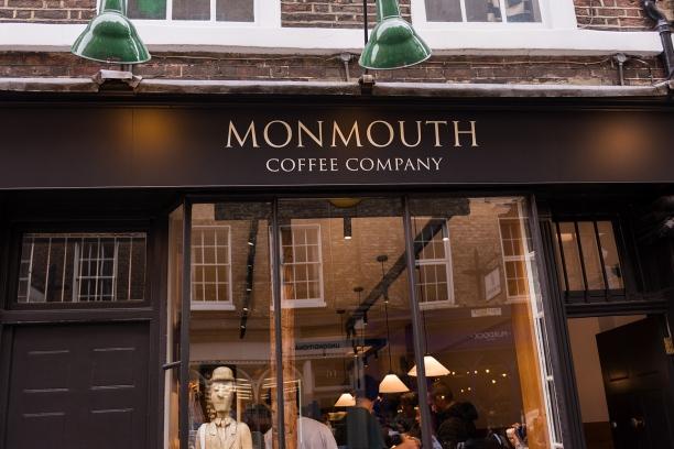 Monmouth Coffee Company, l'un des meilleurs torréfacteurs de Londres.