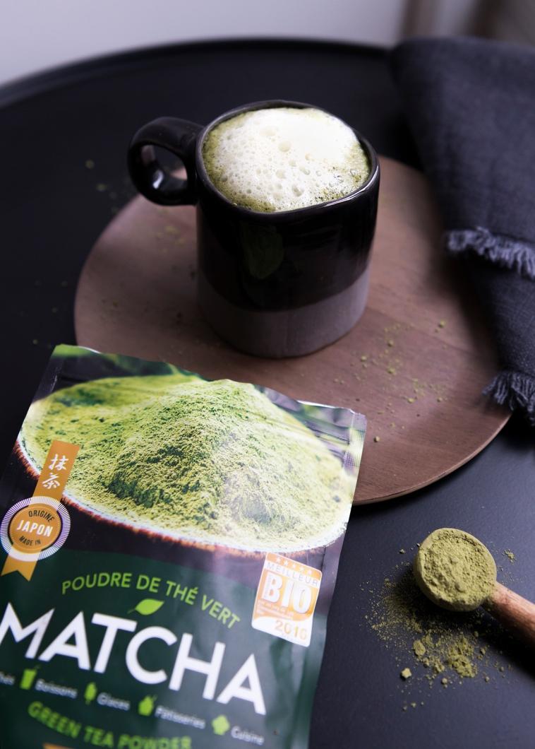 Matcha tea latte