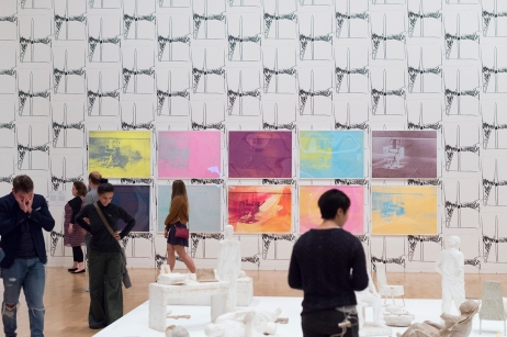 Exposition gratuite de nuit à la National Gallery lors de la White Night : Andy Warhol.