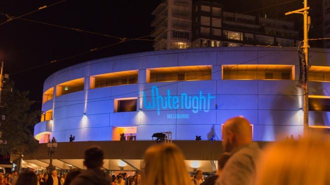 White Night Melbourne, festival son & lumières.