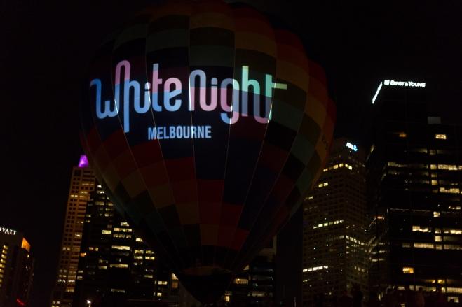 La nuit blanche de Melbourne.