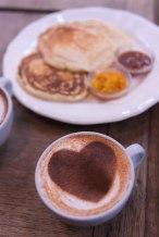 Pancakes chez Passager.