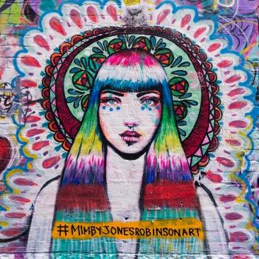 Street Art à Hozier Lane près de Federation Square.