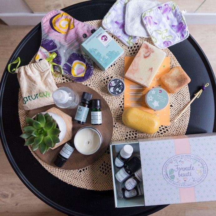 Les produits d'hygiène que j'utilise en zéro déchet.